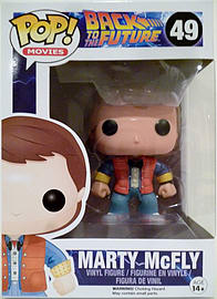 Back To The Future- Marty McFly POP Vinyl Figure (#49) Figurines and Sets