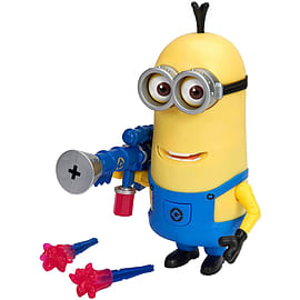 Despicable Me- Minion Kevin (With Jelly Blaster) Action Figure Figurines and Sets