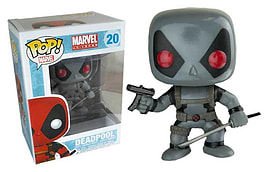 X-Force Deadpool Grey Variant (20) POP Vinyl Bobble-Head Figurines and Sets