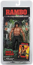 Rambo First Blood Part 2 - John J. Rambo Action Figure Figurines and Sets