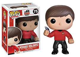 The Big Bang Theory Howard Wolowitz (Star Trek Shirt) Pop Vinyl Figure Figurines and Sets