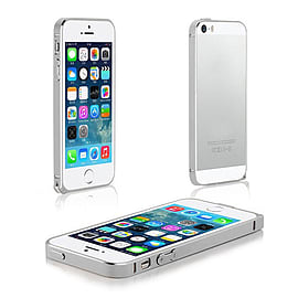 Frostycow Aluminium Metal Bumper Case Cover For Apple iPhone 5 5G 5S Silver Mobile phones