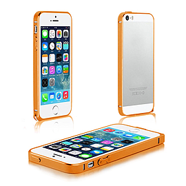 Frostycow Aluminium Metal Bumper Case Cover For Apple iPhone 5 5G 5S Gold Mobile phones
