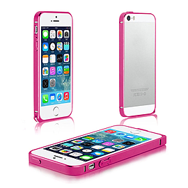 Frostycow Aluminium Metal Bumper Case Cover For Apple iPhone 5 5G 5S Pink Mobile phones