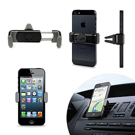 Frostycow Ultra Slim Universal Rotating Mobile Smart Phone Car Air Vent Mount Holder Mobile phones