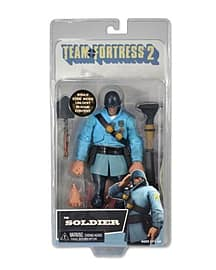 Team Fortress 2: The Soldier Blue Figure Figurines and Sets