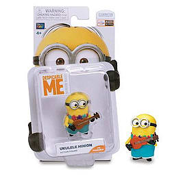 Despicable Me- Ukulele Minion Action Figure Figurines and Sets