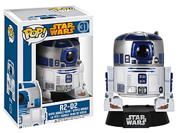 Star Wars- R2-D2 Pop Vinyl Bobble Head (31) Figurines and Sets
