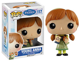 Frozen- Young Anna POP Vinyl Figure (#117) Figurines and Sets