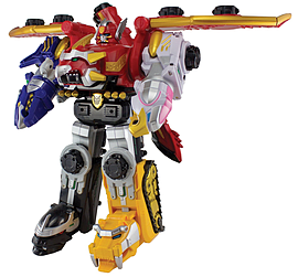 Bandai Power Rangers Nippon Edition Legendary Megazord Figurines and Sets