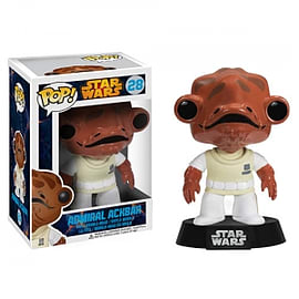 Star Wars Admiral Ackbar Pop Vinyl Bobble Head Figurines and Sets