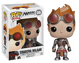 Magic The Gathering Chandra Nalaar Pop Vinyl Figure Figurines and Sets
