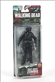 The Walking Dead- Riot Gear Zombie Action Figure Figurines and Sets