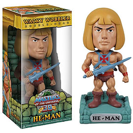 Master of the Universe Wacky Wobbler Bobble Head - He-Man Figurines and Sets