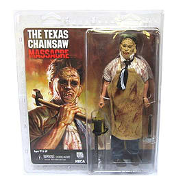 The Texas Chainsaw Massacre- Leatherface Clothed 8 Figure Figurines and Sets