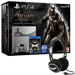 PlayStation 4 Limited Edition Batman Arkham Knight Console With Batman Arkham Knight Stereo Headset PS4