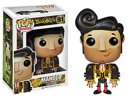 Book Of Life Manolo (91) Pop Vinyl Figure Figurines and Sets