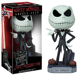 Jack Skellington Wacky Wobbler Bobble Head Figurines and Sets