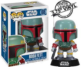 Star Wars Boba Fett (08) Vinyl Bobble Head Figurines and Sets