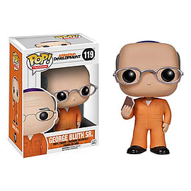 Arrested Development George Bluth Sr. Prison Outfit Pop Vinyl Figure Figurines and Sets