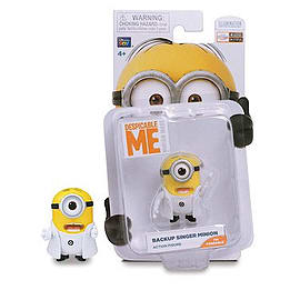 Despicable Me- Backup Singer Minion Action Figure Figurines and Sets