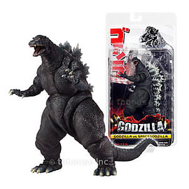 Godzilla 12 inch Head To Tail and 6 inch Tall Classic 1994 Godzilla Action Figure Figurines and Sets