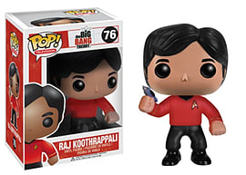 The Big Bang Theory- Raj Koothrappali POP Vinyl Figure Figurines and Sets