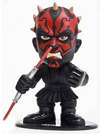Funko Force Star Wars Ultra Stylized Bobble-Head Darth Maul Figurines and Sets