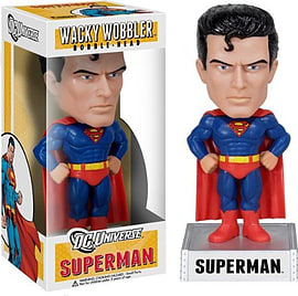 Superman Wacky Wobbler Bobble-Head Figurines and Sets