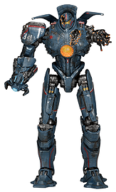 Pacific Rim Jaeger Anchorage Attack Gipsy Danger Action Figure Figurines and Sets