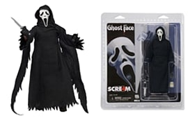 Scream 4- Ghost Face Clothed 7 Figure Figurines and Sets