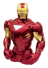 Marvel Iron Man Bust Money Bank Figurines and Sets