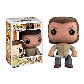 The Walking Dead- Rick Grimes POP Vinyl Figure (#67) Figurines and Sets
