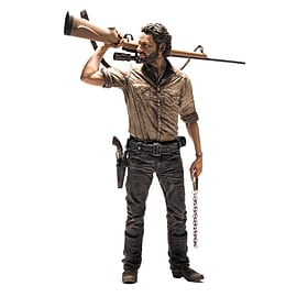 The Walking Dead TV Rick Grimes 10 inch Deluxe Action Figure Figurines and Sets
