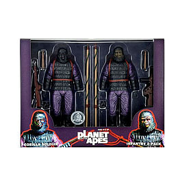 Planet Of The Apes Gorilla Soldier Infantry 2 Pack 7 Figures Toy R Us Exclusive Figurines and Sets