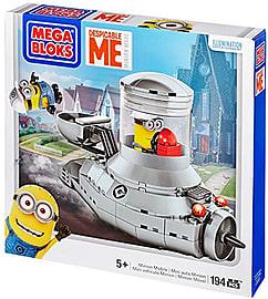 Mega Bloks Despicable Me- Minion Mobile Blocks and Bricks