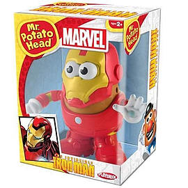 Marvel Comics Iron Man Potato Head Figurines and Sets