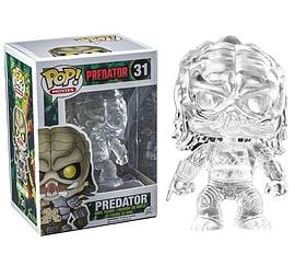 Predator- Predator (Clear Cloaked) POP Vinyl Figure (31) Figurines and Sets