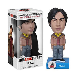 Big Bang Theory Wacky Wobbler Bobble Head - Raj Figurines and Sets