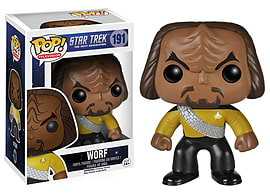 Star Trek- Worf POP Vinyl Figure (191) Figurines and Sets