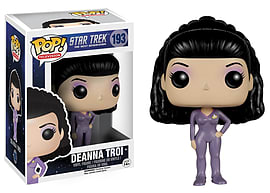 Star Trek- Deanna Troi POP Vinyl Figure (193) Figurines and Sets