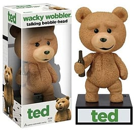 Ted Talking Wacky Wobbler Bobble Head Figurines and Sets