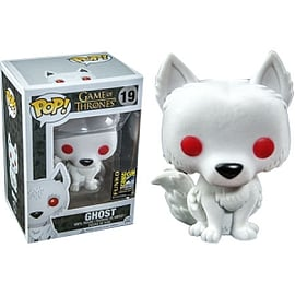 Game Of Thrones- Flocked Ghost POP Vinyl Figure (19) Figurines and Sets