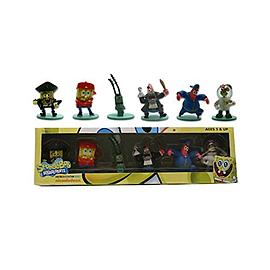 Spongebob Squarepants - Mini Figure Collection Series 2 - 6 Pack Figurines and Sets