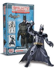 Batman Arkham City Poseable Figural Model Kit (Sprukits) Figurines and Sets