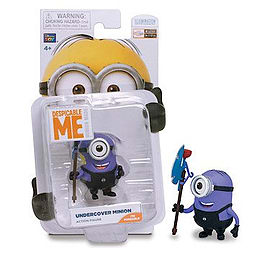 Despicable Me- Undercover Minion Action Figure Figurines and Sets