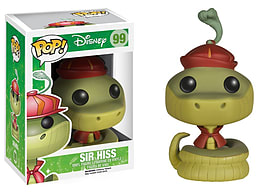 Disney Sir Hiss (Jungle Book) Pop Vinyl Figure Figurines and Sets