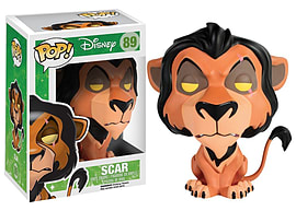 Disney lion King Scar POP Vinyl Figure Figurines and Sets
