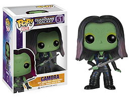 Guardians of the Galaxy Gamora POP Vinyl Bobble Head Figurines and Sets