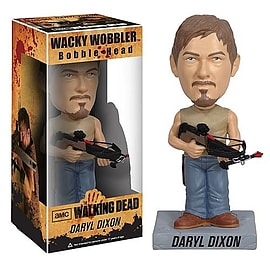 The Walking Dead Daryl Dixon (crossbow) Wacky Wobbler Bobble Head Figurines and Sets